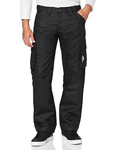 Enzo Jeans voor heren, Zwart, 34W x 32L