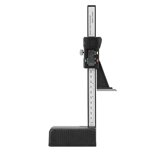 Digitale hoogtemeter, 0-150 mm Digitale precisie-dieptemeter met magnetische voet voor houtbewerking, meetinstrumenten die worden gebruikt om de hoogte van zaagbladen in te stellen