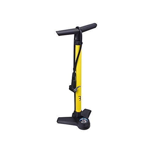 BBB Cycling AirBoost luchtpomp voor fiets | staande pomp met manometer | DualHead 3.0 Presta Dunlop Schrader | BFP-21