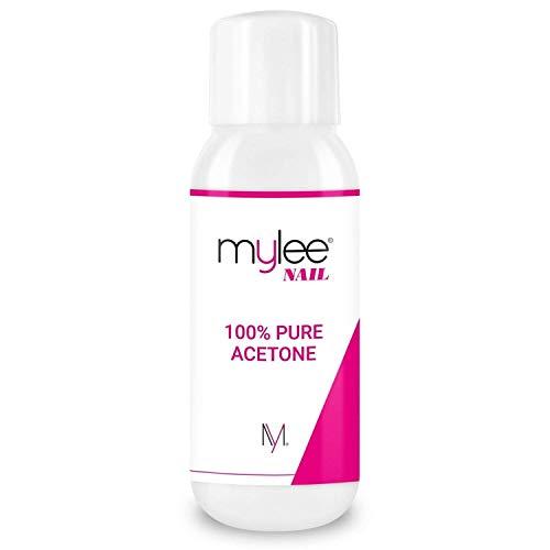 Mylee Aceton 100% pure nagellakverwijderaar hoge kwaliteit voor UV/LED-gel (300 ml)