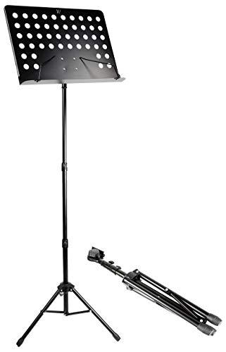 Windsor Muziekstandaard Bladmuziekstandaard mat zwart