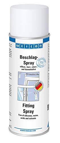 WEICON 11560200 Beslagspray 200 ml Smeerolie voor beslag, scharnieren van deuren, ramen, garage, autosloten en meer