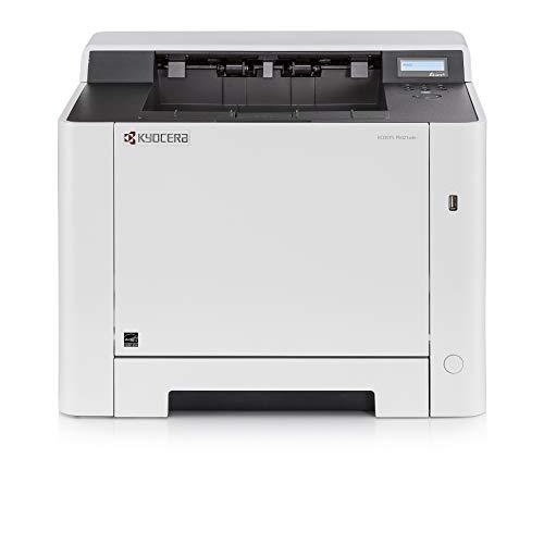 Kyocera Ecosys P5021cdn kleuren- en zwart/wit dubbelzijdig laserprinter. Tot 21 pagina's per minuut. Ondersteuning voor mobiele afdrukken