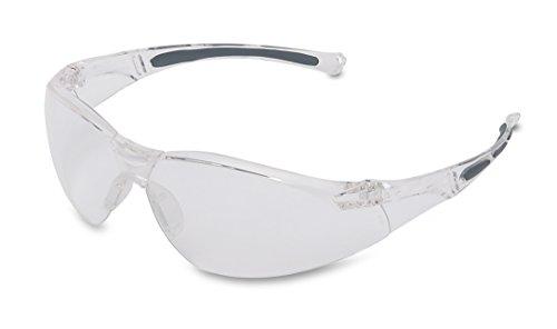 Honeywell 1015370 A800 Sporty Safety Eyewear Frame met Clear Anti-Kras Lens - Doorzichtig