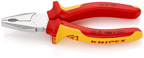 KNIPEX Kombitang 1000V-geïsoleerd (160 mm) 03 06 160