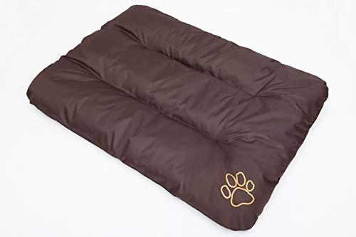 Hobbydog R3 ECOBRA7 hondenbed ECO slaapplaats rustplaats hondenmatras hondenkussen, 115 x 80 cm, XXL, bruin