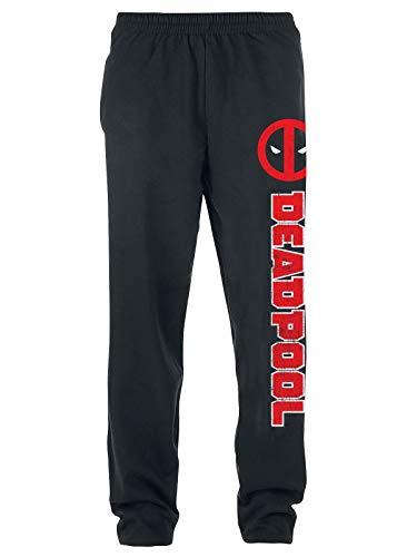 Deadpool Symbol Trainingsbroeken zwart XXL 80% katoen, 20% polyester Fan merch, Film, Marvel