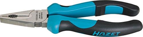 HAZET Combinatietang (inductief geharde snijkant (hardheid: 60 HRC) gepolijst en gestraald oppervlak, ergonomische 2-componenten handvat, lengte: 160 mm) 1850M-22