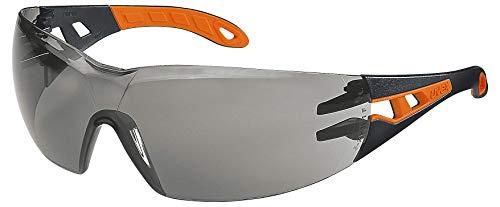 Uvex Pheos veiligheidsbril - Supravision Excellence - getint/zwart-oranje