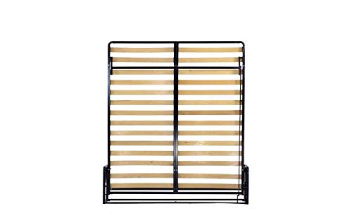 WallBedKing Verticaal Opklapbed, Murphy bed (Lits-Jumeaux 180cm x 200cm)