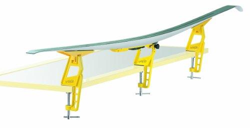 TOKO - Ski Vise Nordic, kleur geel.