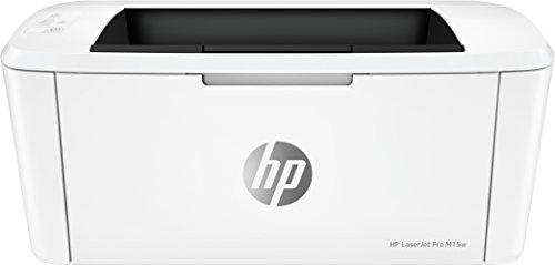 HP LaserJet Pro M15w-printer, wit