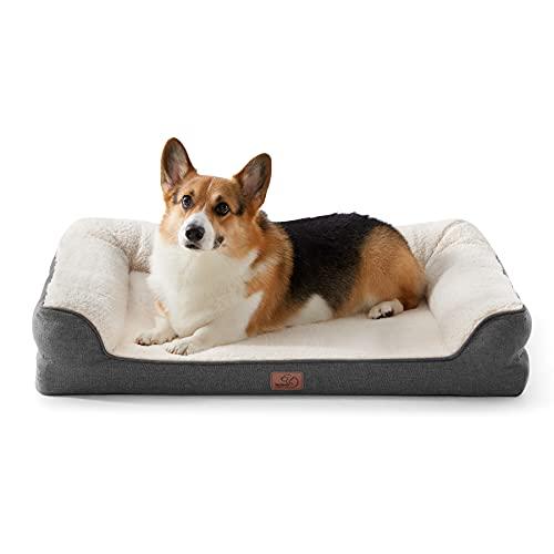 Bedsure Orthopedische Huisdier Slaapbank voor Kleine, Medium, Grote Honden & Katten