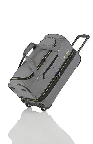 Travelite Basics Sac de voyage à roulettes Reistas, 70 cm, 98 liter, Grijs