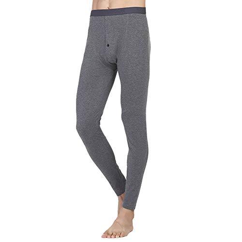 Mieuid heren leggings lente herfst broek mode gezellig chique thermo-ondergoed effen kleuren thermobroek