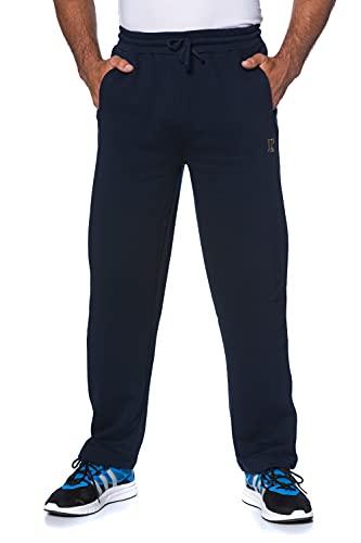 JP 1880 Heren grote maten Menswear L-8XL tot 8XL, joggingbroek met elastische tailleband en zoom, 2 steekzakken, recht gesneden 702635, navy, L