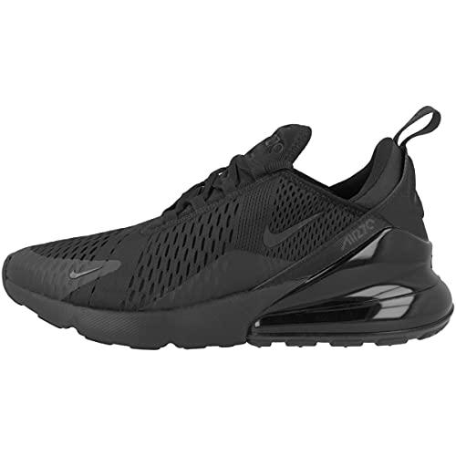 Nike Air Max 270 (Gs) Gymschoenen voor jongens, Zwart Zwart Zwart Ah8050 005, 45 EU