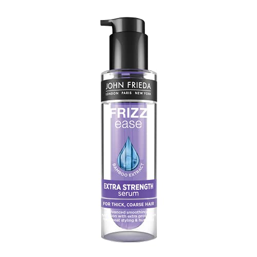 John Frieda Frizz Ease Extra Strength Serum met bamboo extract voor pluizig haar - 50 ml