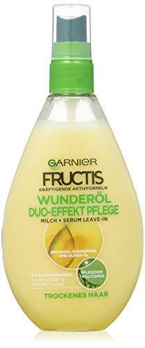 Garnier Fructis Oil Repair Duo-Effect Haar Verzorging Haarkuur, voor Droog en Beschadigd Haar, 150 ml