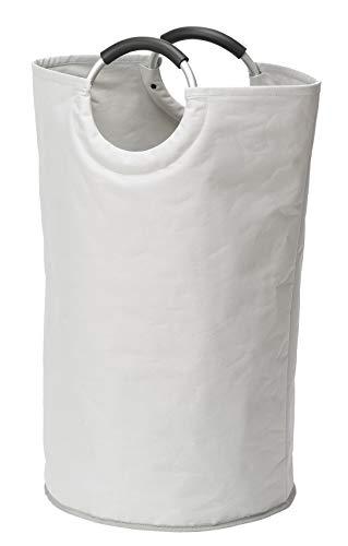 WENKO Waszak Jumbo Stone Beige, stabiele multifunctionele tas met praktische handgrepen, opvouwbare boodschappenbegeleider, 69 l opbergruimte, (B x D x H): 38 x 72 cm