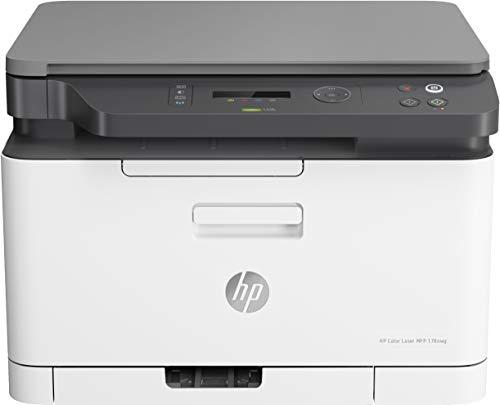 HP Laser 178nw, Draadloze Wifi kleuren Laserprinter voor thuiskantoor (Printen, kopiëren, scannen)