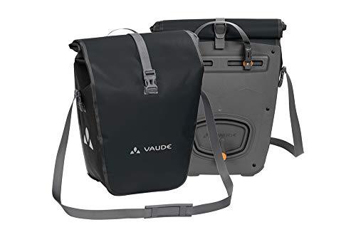 Vaude Aqua Back Fietstas, waterdichte bagagedragertas in praktische set van 2 stuks, gemaakt van robuust en PVC-vrij zeilmateriaal, made in Germany