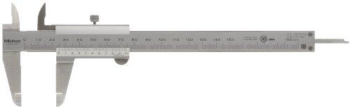 Mitutoyo 530-122 precisiezadel met borgschroef DIN 862, meetbereik 0-150 mm