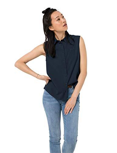 Jack Wolfskin Sonora Sneldrogende mouwloze blouse voor dames, zonder mouwen, zonder mouwen