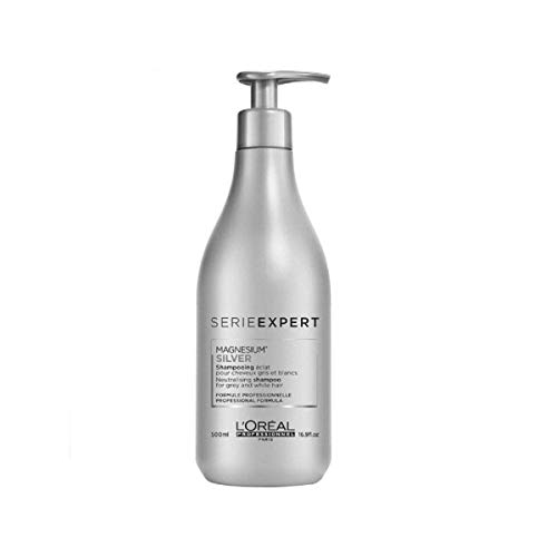 L'Oréal Professionnel Serie Expert Silver Shampoo, per stuk verpakt (1 x 500 ml)