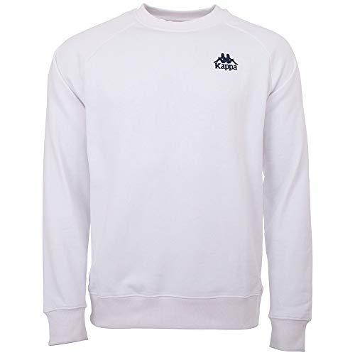 Kappa Heren sweatshirt Authentic Taule | shirt met lange mouwen, retro-look hoodie, pullover, sweater lang shirt, regular fit