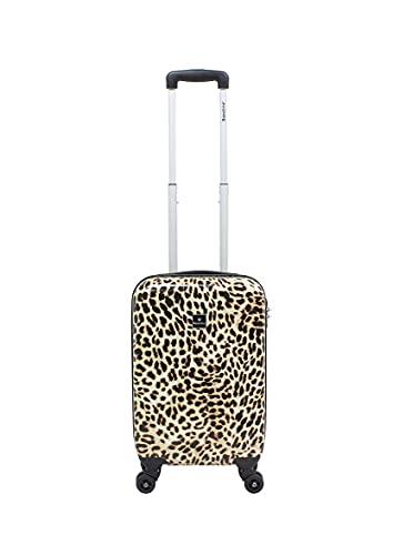 Saxoline handbagage met modieuze luipaardprint S, 55 cm, bedrukt