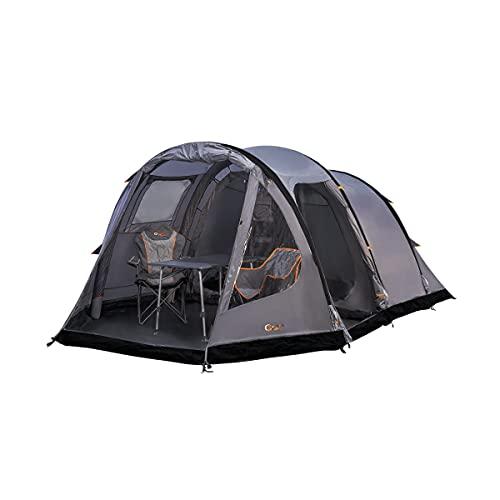 Portal Alfa 4 opblaasbare campingtent, tunneltent voor 4 personen, waterdicht, 5000 mm