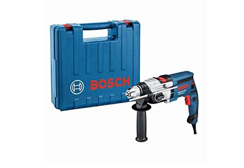 Bosch Professional Klopboormachine GSB 19-2 RE (850W, 2 snelheden, snelspanboorhouder: 13mm, diepteaanslag: 210mm, extra handgreep, boordiameter in beton: 18–23mm, in opbergkoffer)