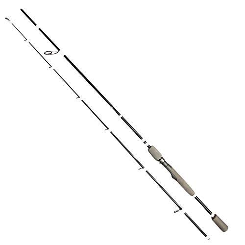 FISHINGGHOST® Predator Light hengel 1,98 m, 15-45 g - hengel - spinhengel - steekhengel - directe krachtoverbrenging bij het vissen op snoek, snoek, baars, forel, saibling