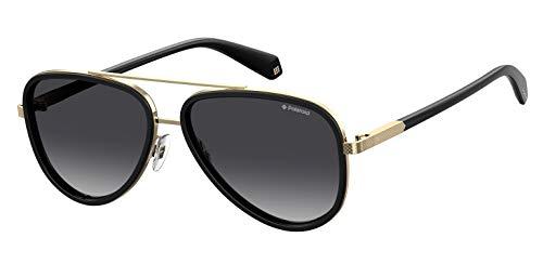 Polaroid heren Pld 2073 / S zonnebril, meerkleurig (zwart), 57