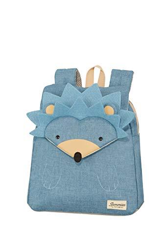 Samsonite Happy Sammies Kinderrugzak S+, 33 cm, 11 L, Blauw (Hedgehog Harris), S, S
