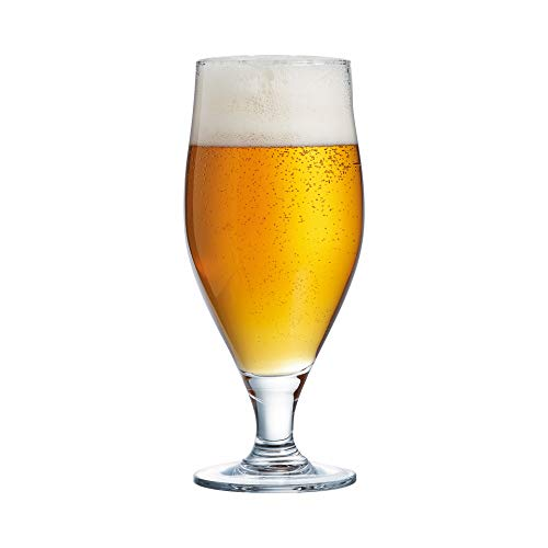 Arcoroc ARC 07134 Cervoise biertulp, bierglas, 320 ml, glas, transparant, 6 stuks