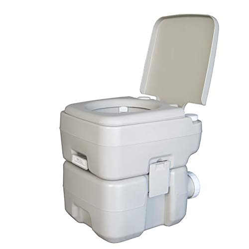 Draagbare Camping Toilet Site 150 KG Gewicht Indoor Outdoor Handvat WC 20L Camping Toilet Potje Commode Verwijderbare Reistoilet voor Oudere Zwangere Vrouw