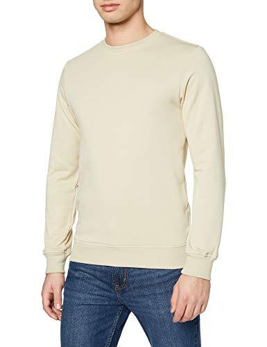 Urban Classics Basic Terry Crew Sweater voor heren, blauw (vintage blauw), M