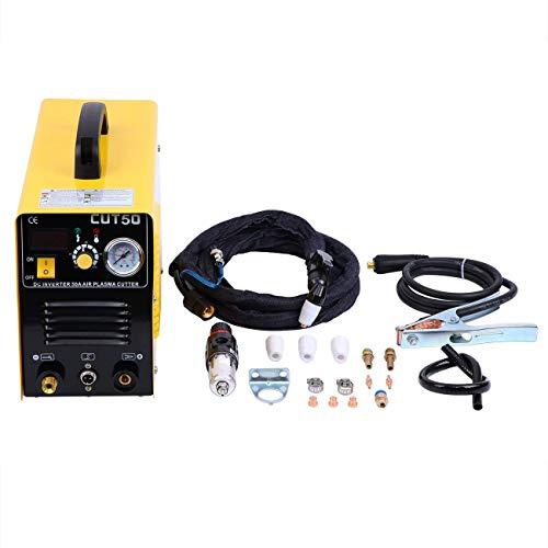 Ridgeyard CUT50 Plasma Cutter Machine lasapparaat plasmasnijder 50 ampère 220 V inverter lucht met elektrische druk digitaal display