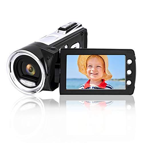 Heegomn Digitale videocamera voor YouTube Vlogging, 1080p Mini DV-videocamcorder voor kinderen/kinderen/beginners/jongeren