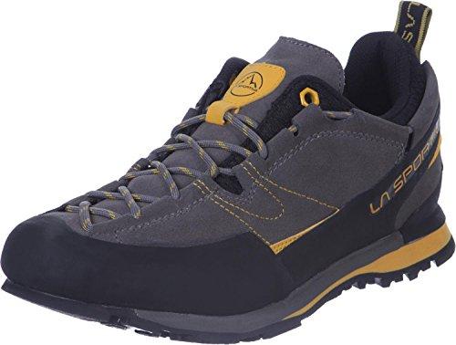LA SPORTIVA Unisex Boulder X grijs/geel trekking- en wandelschoenen, meerkleurig grijs geel 000, 45.5 EU