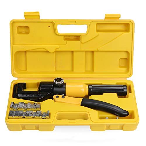 WiMas 10 ton hydraulische krimptang, tang krimptang kabelschoenen, 4-70 mm²