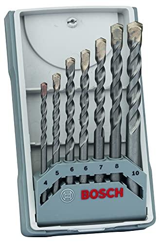 Bosch Professional 7-delige CYL-3 betonborenset Set (voor beton, Ø 4/5/6/6/7/8/10mm, accessoire klopboormachine)
