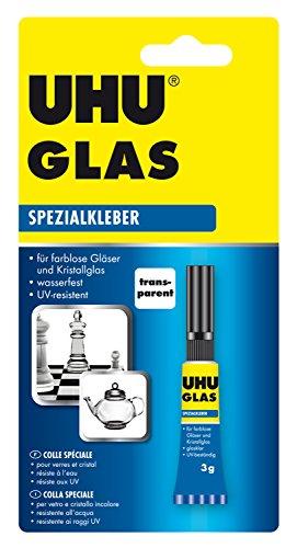 UHU 46685 speciale lijm glas, tube met 3 g