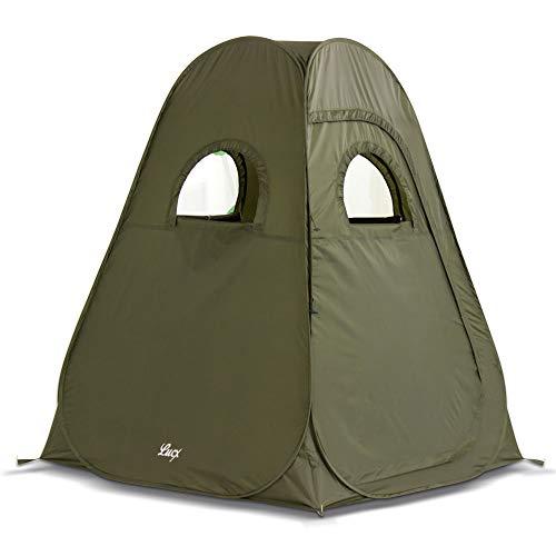 Lucx® Tent pop-up tent, vistent, jachttent, secondentent, campingtent, 200 x 150 x 150 cm, direct klaar voor gebruik