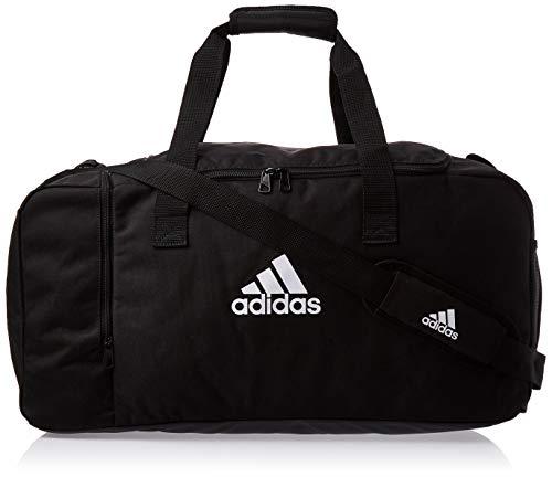 adidas Duffelbag Tiro M, zwart/wit, één maat, DQ1071
