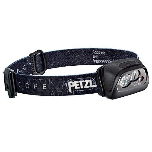 PETZL Unisex Actik Core Stirnlampe, Schwarz, Einheitsgröße EU