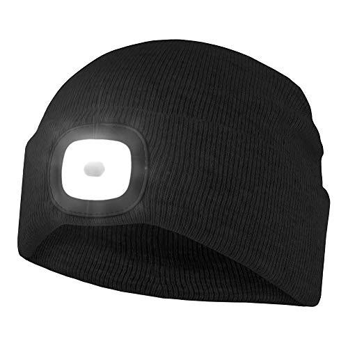 Chillouts Unisex ChillLight beanie-muts, 10 zwart, eenheidsmaat