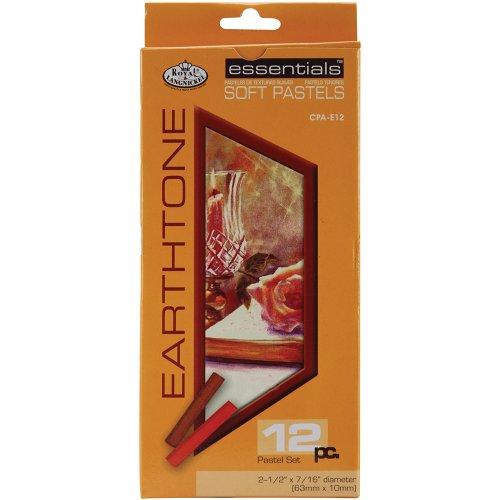 Royal & Langnickel CPA-E12 - Soft pastelkrijt in aardetinten - 12-delig